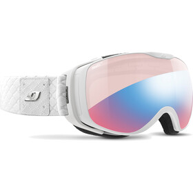 Julbo Luna Brille white/zebra light red/blue